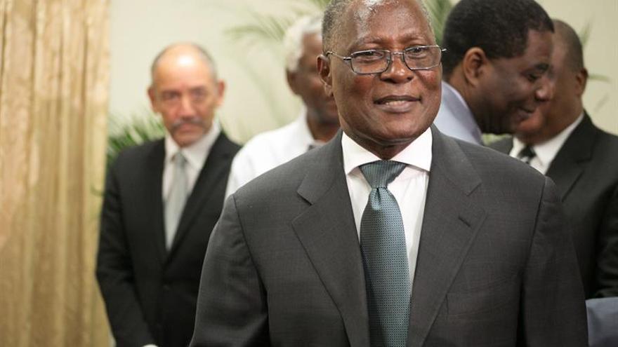 Miles de partidarios del PHTK piden la salida del presidente interino de Haití