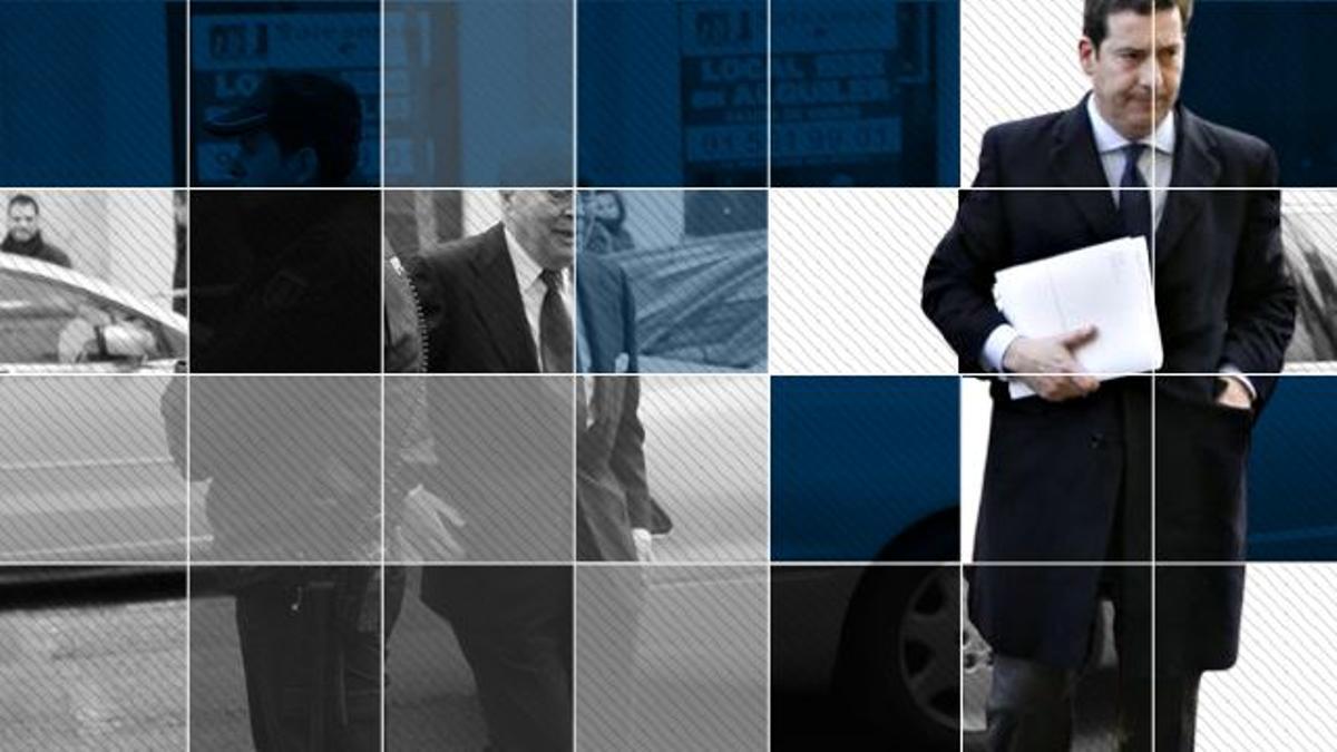 Las piezas del puzle del abogado Javier Iglesias