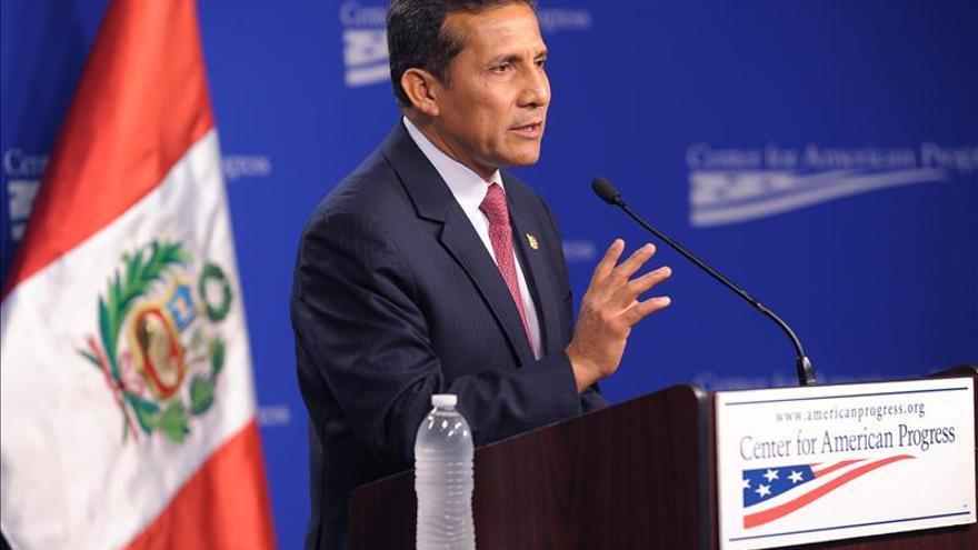 Humala asegura que su Gobierno no está siendo investigado por el Congreso