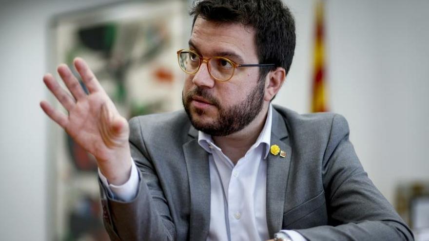 Aragonès no ve necesario que Torra vaya a la mesa de diálogo si no va Sánchez