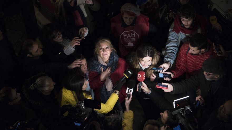 Pepi Sánchez ante los medios