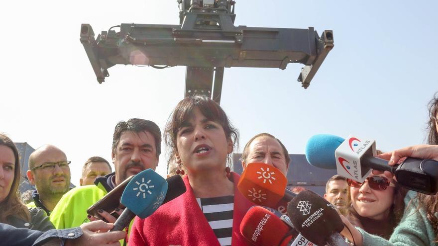 """Teresa Rodríguez ve voluntad de Iglesias para la autonomía de Podemos Andalucía y no quiere una """"negociación eterna"""""""