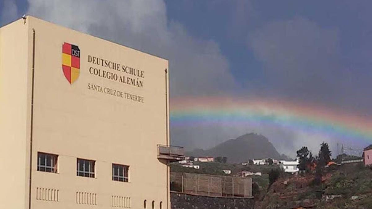 El colegio Alemán en Santa Cruz de Tenerife