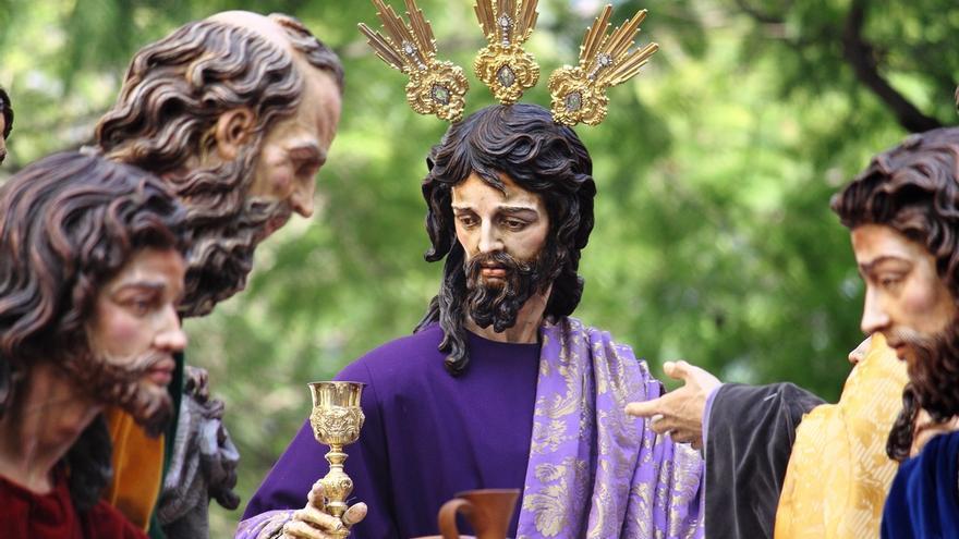 Roban en la Casa de Hermandad de la cofradía de la Cena de Jerez enseres como el cáliz del Cristo