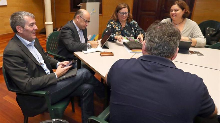 La secretaria de Organización de CC, Guadalupe González Taño, en la reunión del Comité Permanente Nacional de este partido.