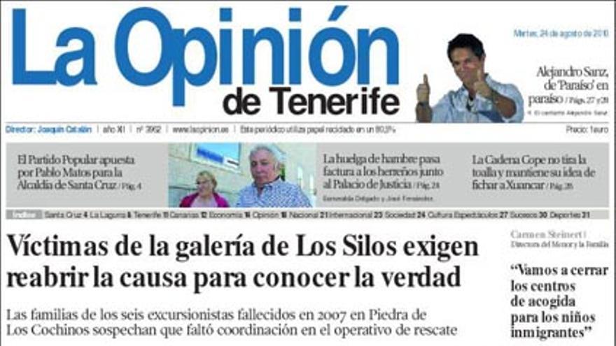 De las portadas del día (24/08/2010) #9