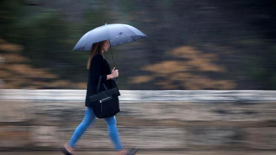 La entrada de una masa de aire frío mañana traerá lluvia, nieve y viento
