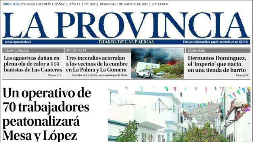 De las portadas del día (5/08/2012) #1