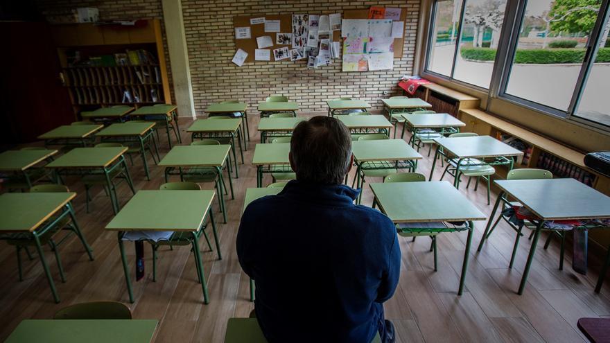 El STE pide convocar el Comité de Seguridad Laboral para analizar la situación en las aulas por el aumento de contagios