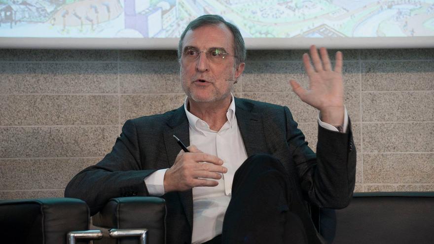 El arquitecto José María Ezquiaga. / Colegio Oficial de Arquitectos de Madrid.
