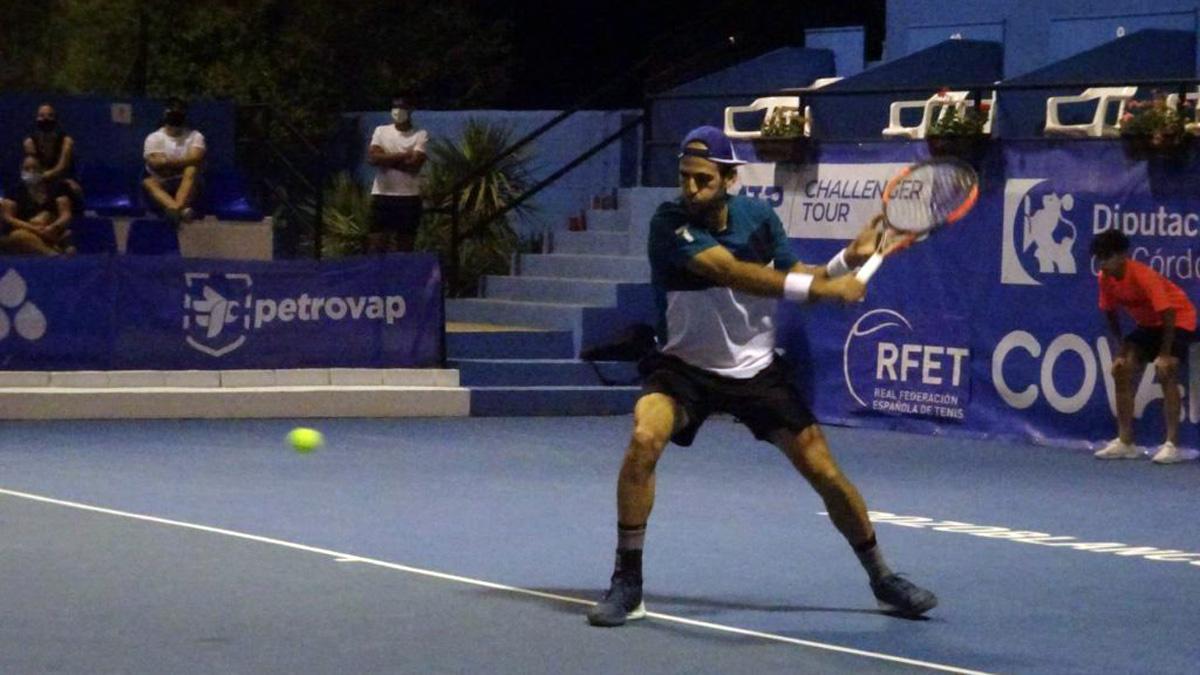Adrián Menéndez, en cuartos del Open Ciudad de Pozoblanco