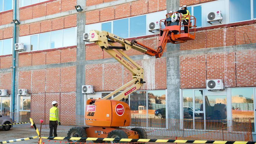 Obras en el nuevo hospital de Toledo / SESCAM