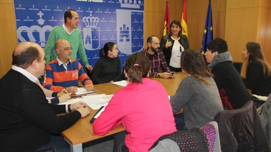 Grupo de trabajo para coordinar apoyo a las familias desalojadas en Guadalajara