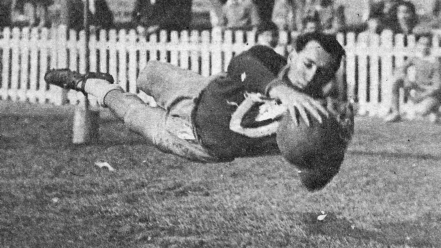 Gilberto Cayol en una foto de la época.