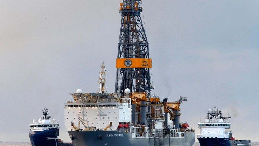 El Rowan Renaissance, el buque que utiliza Repsol para las perforaciones