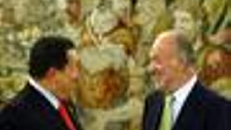 Chávez y el Rey