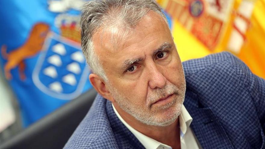 Ángel Víctor Torres, presidente del Gobierno de Canarias. (EFE/Elvira Urquijo A.)