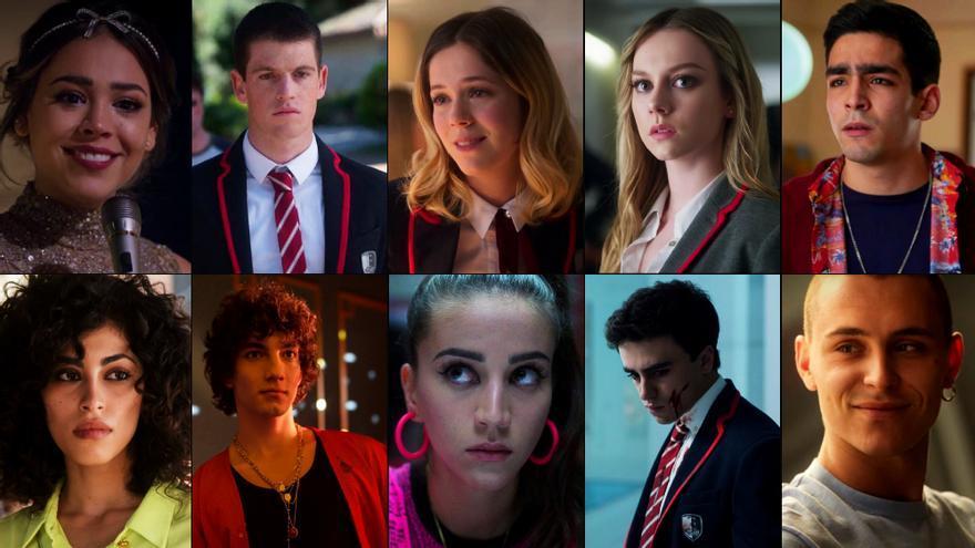 El casting de la tercera temporada de 'Élite'