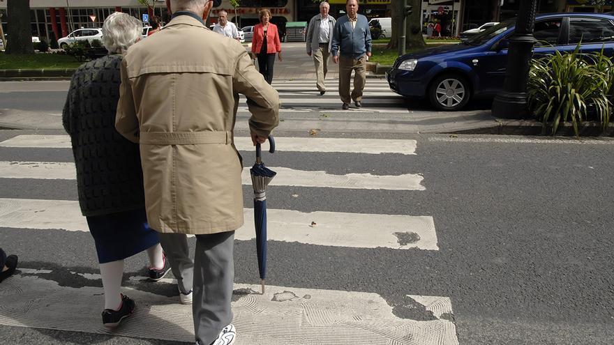 Población envejecida en Cantabria