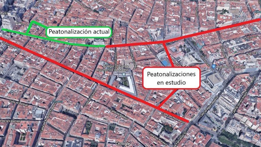 Peatonalizaciones en estudio en Fuencarral y Hortaleza   SOMOS MALASAÑA