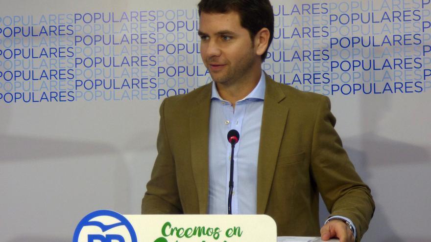 El portavoz del PP de Córdoba, Fernando Priego