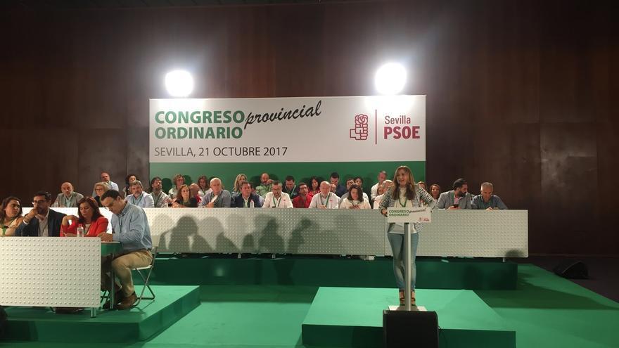 El PSOE aprueba su nueva ejecutiva con el 92,6% de los apoyos y Espadas y Fernández vicesecretarios