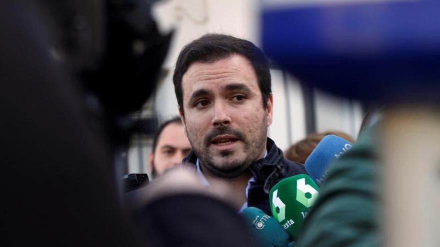Alberto Garzón asumirá el papel principal de Unidos Podemos en el debate de los presupuestos