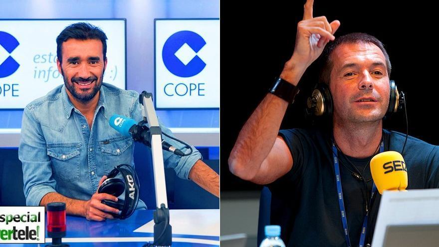 La TV toma la radio deportiva española: Los 30 rostros que hacen doblete