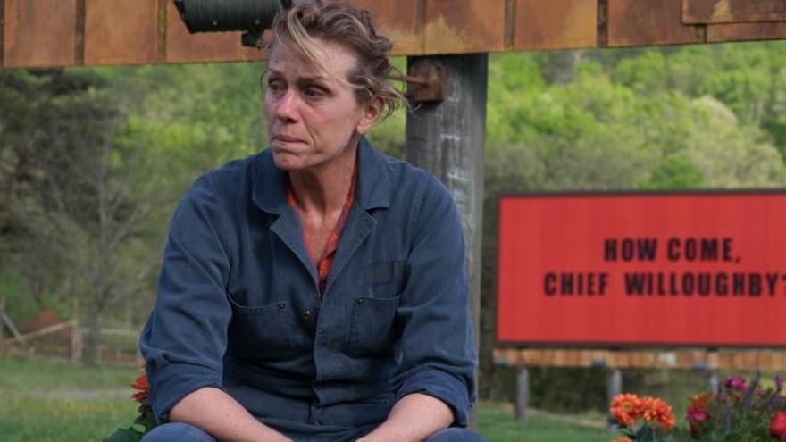 Frances McDormand, madre coraje en 'Tres anuncios a las afueras'