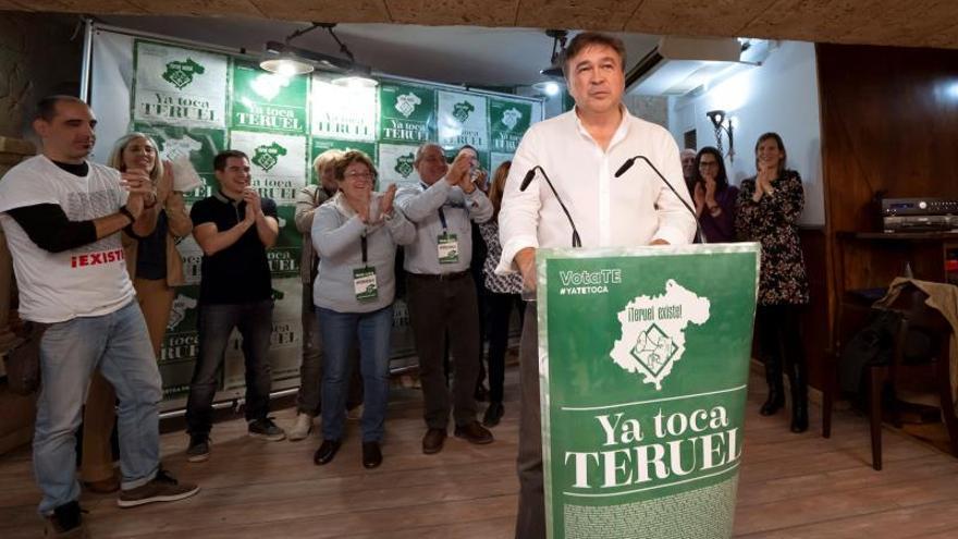 Teruel Existe pone en valor que un movimiento social llega al Parlamento
