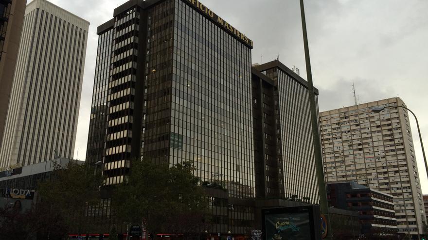 Edificio de oficinas que alberga la sede de Defex en Madrid.