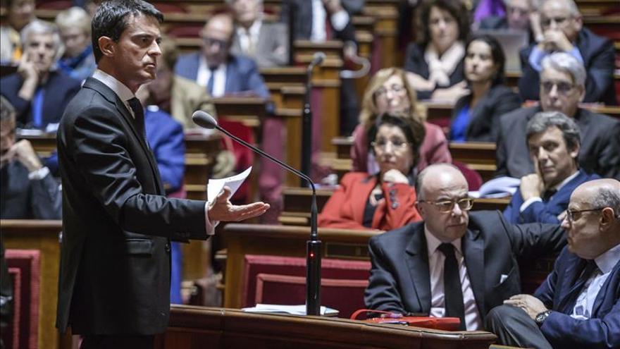 Valls: si la UE no protege la frontera exterior, Francia lo hará con la suya