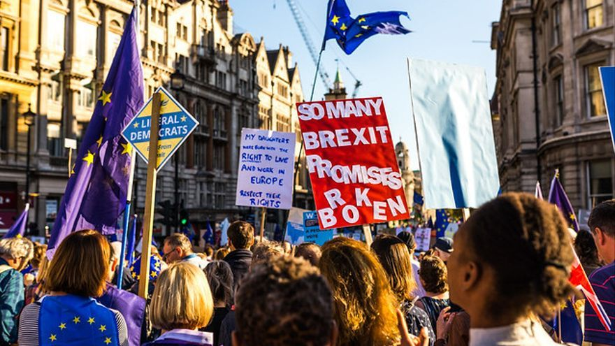 Una manifestación antiBrexit