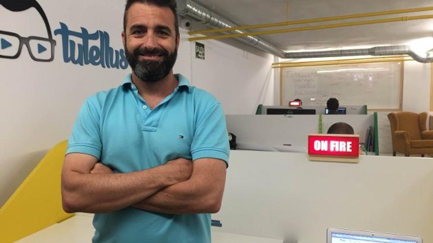 Miguel Caballero, uno de los fundadores de la plataforma educativa Tutellus. / Foto: Tutellus