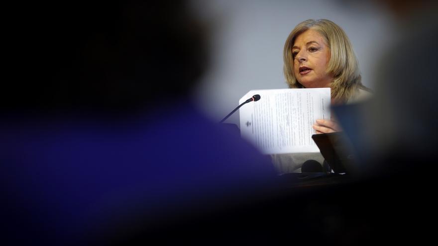 La presidenta del Colectivo de Víctimas del Terrorismo (COVITE), Consuelo Ordóñez.