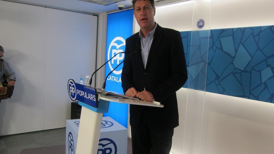 """Albiol dice que los presupuestos catalanes evidencian que gobiernan los """"radicales"""" y asegura que no habrá referéndum"""