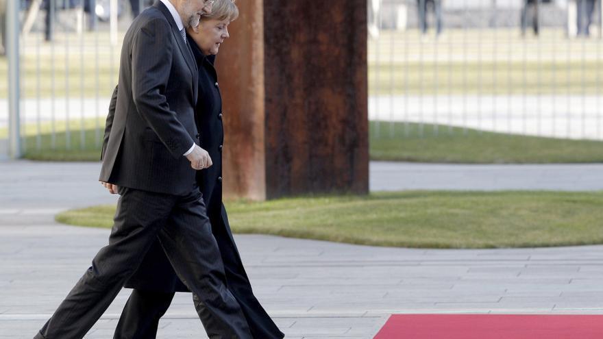 Berlín anuncia el viaje de Merkel a Madrid para entrevistarse con Rajoy