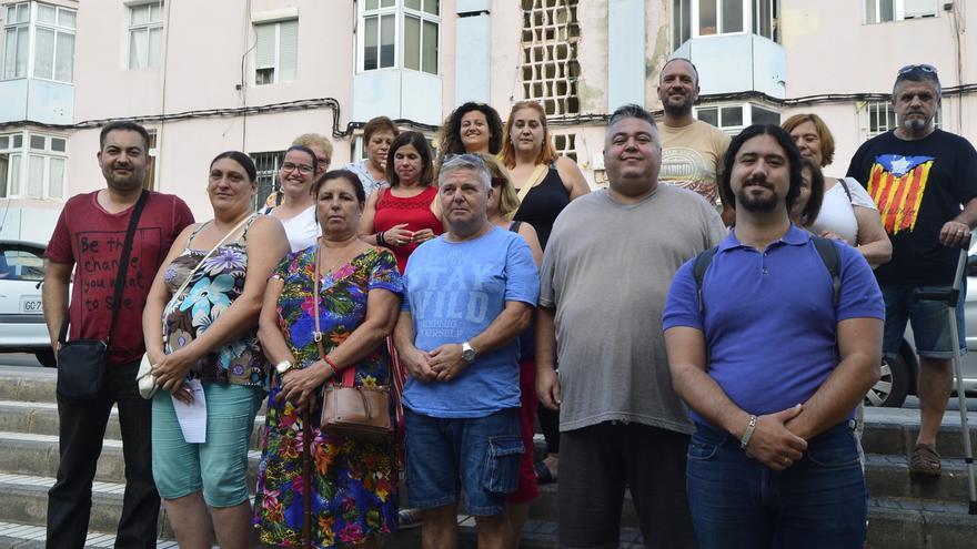 Vecinos de Las Rehoyas.