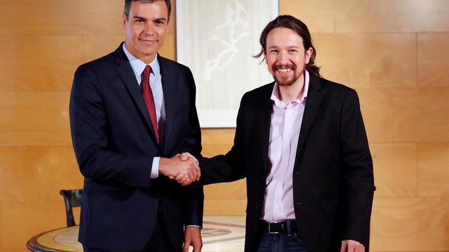Iglesias responde a Sánchez que negociará si renuncia al gobierno monocolor
