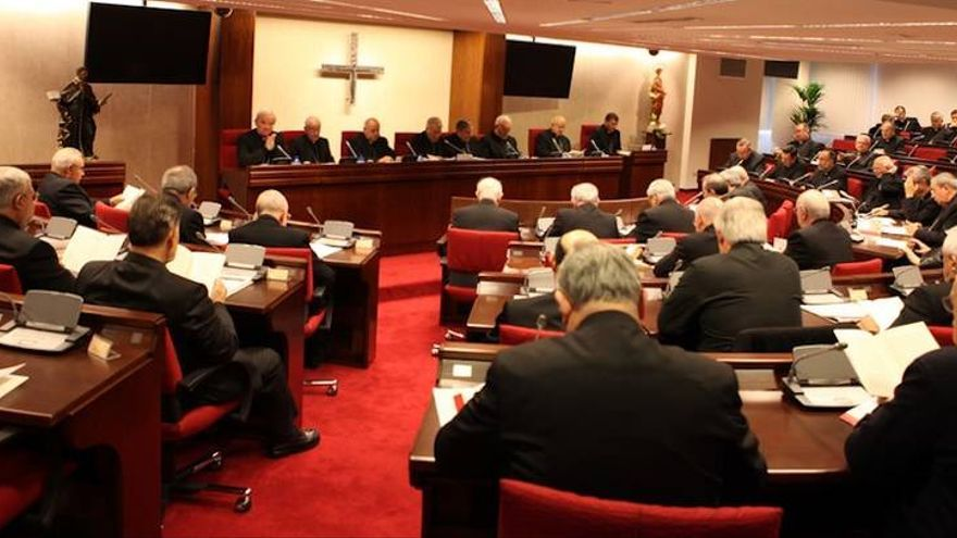 Reunión plenaria de la Conferencia Episcopal Española.
