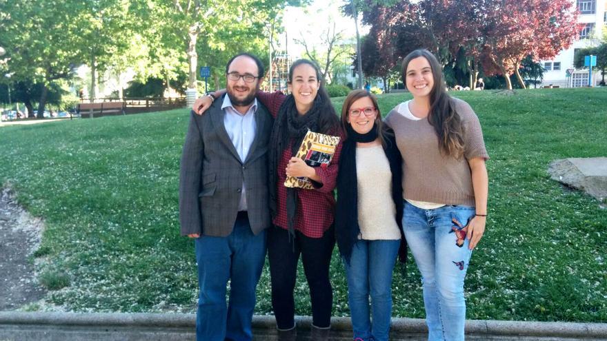 Miguel Umlauff, Ana Palacios, Lucía Nafría, Marta Palacios, participantes de los foros locales de Chamartín