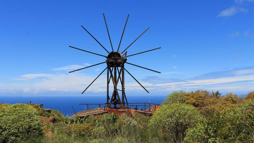 Molino de viento de El Calvario, en Garafía.