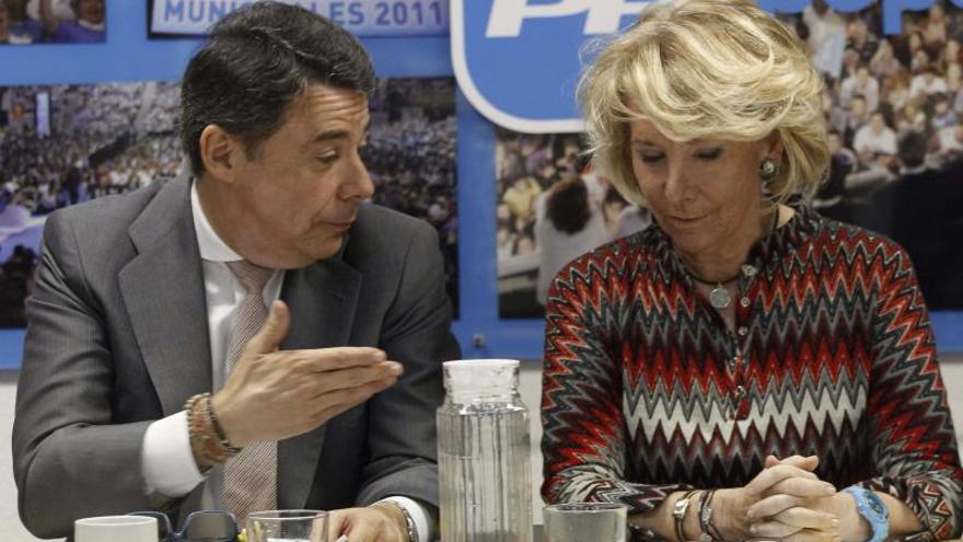 Aguirre sale en defensa de la honradez de Ignacio González