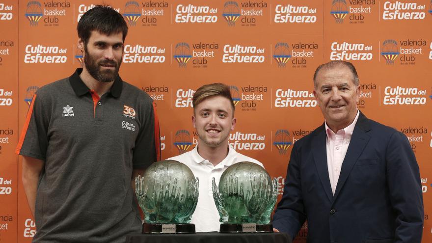 Fernando San Emeterio és el guanyador del Trofeu a l'Esforç