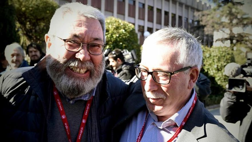 Toxo: Hay que hacer un esfuerzo para superar el conflicto España-Cataluña