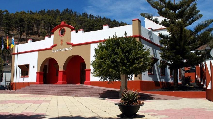 Ayuntamiento de Fuencaliente. Foto: palmerosenelmundo.com