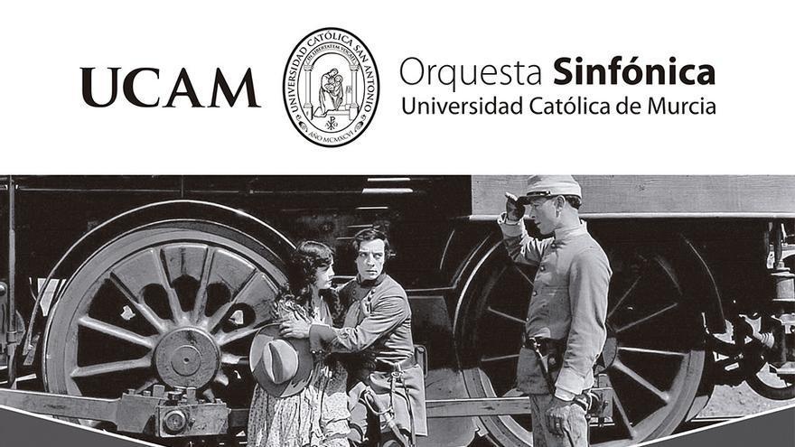 'El Maquinista de La General', de Buster Keaton, se proyecta con música en directo en la Filmoteca Francisco Rabal