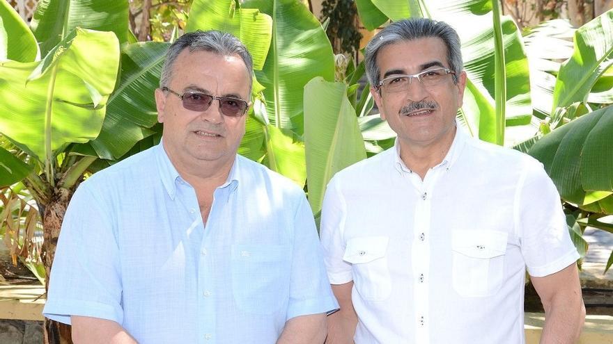 Miguel Ángel Pulido y Román Rodríguez.
