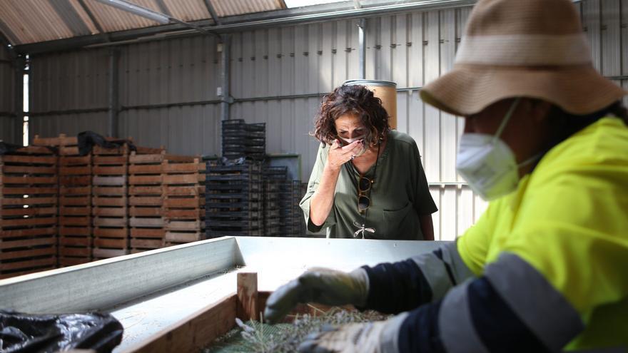 La consejera Gómez visita en Lumbier el centro de inserción socio-laboral de Josenea