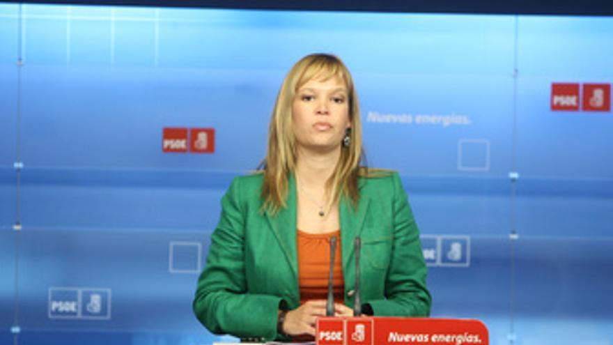 La secretaria de Organización del PSOE, Leire Pajín